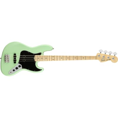 Fender American Performer Jazz Bass J-Bass Bass Guitar Satin Surf Green