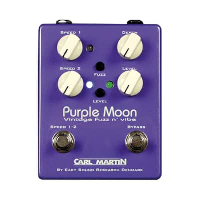Carl Martin Vintage Purple Moon Fuzz and Vibe Effects
