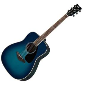 Yamaha FG820-SB Folk Acoustic Guitar Sunset Blue