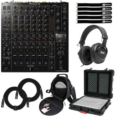 Pioneer DJ DJM-V10 6-Channel 4 Band EQ Serato DVS Professional Club Mixer w Case