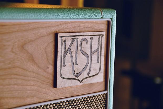 Kish Handmade 1x12 Guitar Cabinet Surf Green Wgs Veteren