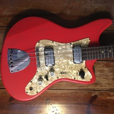 Egmond BEG-2V Typhoon Bass 1960s Red Vinyl for sale