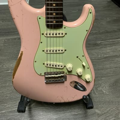 Fender 62 Stratocaster Relic Custom Shop 2012 Shell Pink usa for sale