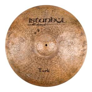 """Istanbul Mehmet 22"""" Turk Flat Ride Cymbal w/ Rivets"""