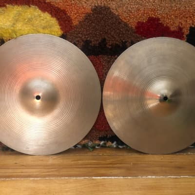 Vintage  Zildjian New Beat Hi-Hats w/soundfile 955 and 1366 grams