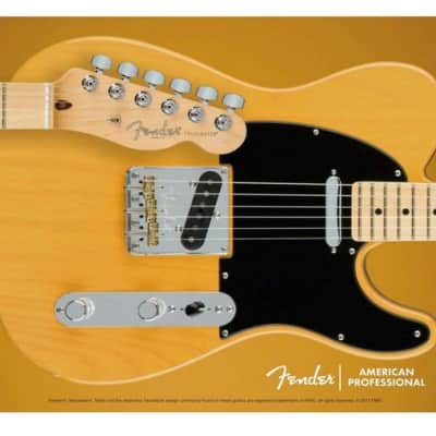 Telecaster Mouse Pad, Butterscotch Blonde