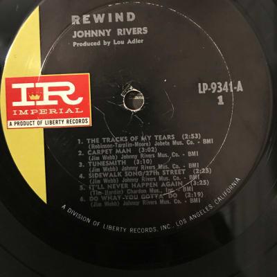 Johnny Rivers - Rewind - Vinyl