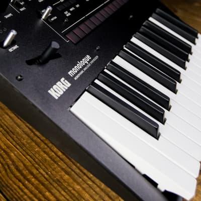 Korg monologue 25-Key Monophonic Analogue Synthesizer - Black - Free Shipping