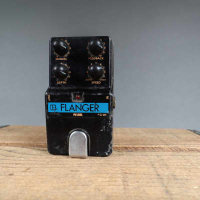 1980's Pearl Flanger FG-01 MIJ Guitar Pedal  for sale