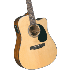 Blueridge BR-40CE Contemporary Series Dreadnought Cutaway with Electronics Natural