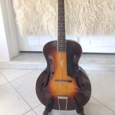 1930s  Slingerland  Songster  Archtop ,  Sunburst w/vintage pre war Grover Butter Bean Tuners for sale