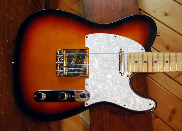 Fender Vintage Telecaster Notched Bridge - w/ Custom Compensated Saddles to  fit an American Standard