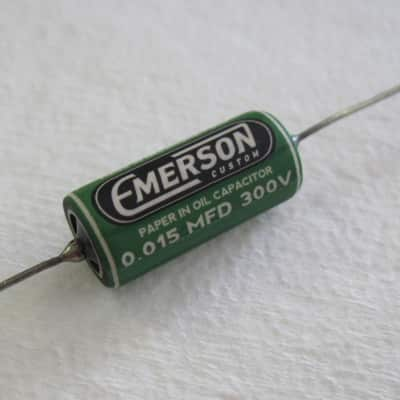 Emerson Custom .015uF Paper in Oil Tone Capacitor
