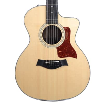 Taylor 254ce DLX Sitka Spruce / Rosewood 12-String Grand Auditorium with ES2 Electronics, Cutaway 2016 - 2017