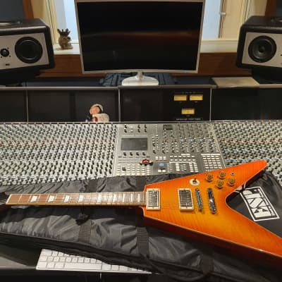 ESP Edwards Custom Flying V Artist Owned by Judas Priest guitarist famous metal producer Andy Sneap! for sale