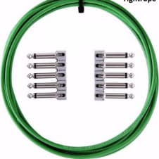 LAVA Cable GREEN Tightrope Solder-Free Pedal Board Kit 10'