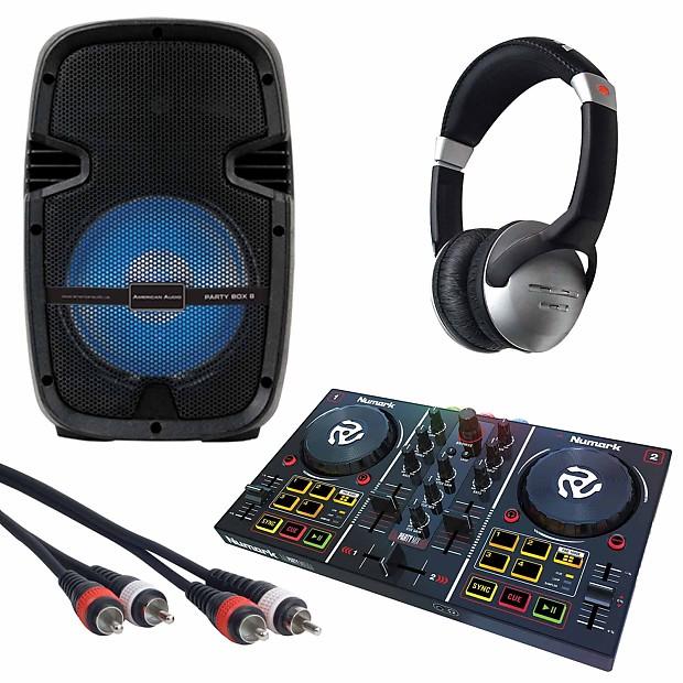 Numark Party Mix DJ Controller + Party Box 8