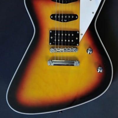Bootlegger  Guitar Hounder  Black Cherry Gold Gloss Burst w/Case for sale
