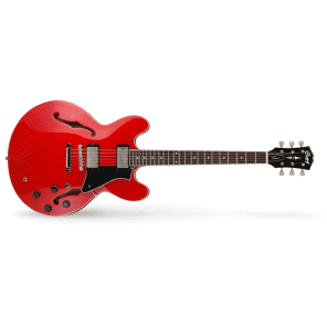 Cort Source Semi Hollow Electric Guitar - Cherry Red for sale