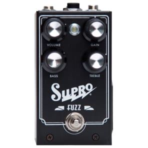 SUPRO FUZZ EFFECT PEDAL for sale