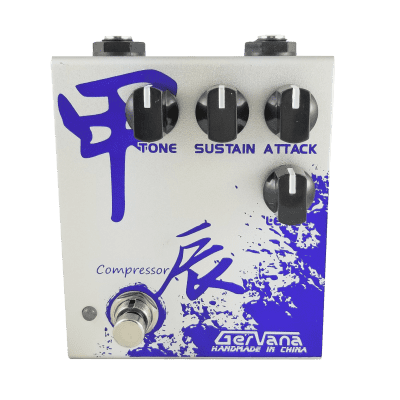 Gervana Jia Chen Hand-Wired Compressor Guitar Effect Pedal