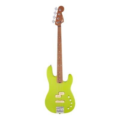 Charvel Pro-Mod San Dimas Bass PJ IV Lime Green Metallic Pre-Order for sale