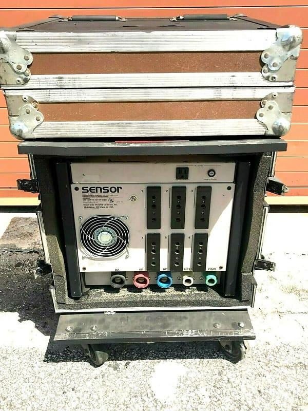 ETC SENSOR SP-650B DIMMER 6X 6K SENSOR PACK IN CASE W/WHEELS #1211 - #1216  (ONE)