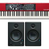 Nord Electro 5D 73 73-Key Keyboard w/ Eris E4.5 Studio Monitors