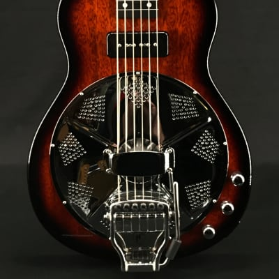 Beard Road-O-Phonic Resonator Lap Steel in High Gloss Tobacco Sunburst with Doubleshot Bridge for sale