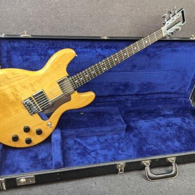 Vintage Travis Bean TB1000S Electric Guitar Natural Maple Finish USA Made w/ Original Hardshell Case for sale
