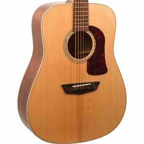 Musical Instruments & Gear Guitars & Basses Romantic Washburn Dreadnought All Solid Wood Acoustic Electric Guitar Hd100swcek W Case