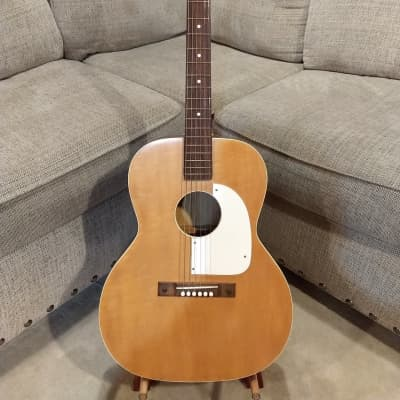 Airline Acoustic Guitar - Vintage - Natural Finish - Made in USA! for sale