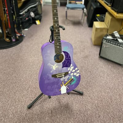 Washburn Hannah Montana Acoustic Purple for sale