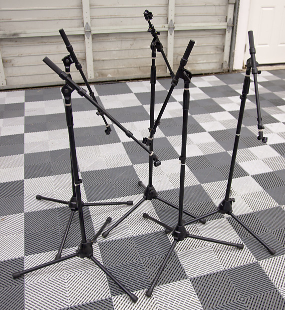 Five Dr Pro Dr210 Mic Stands Reverb