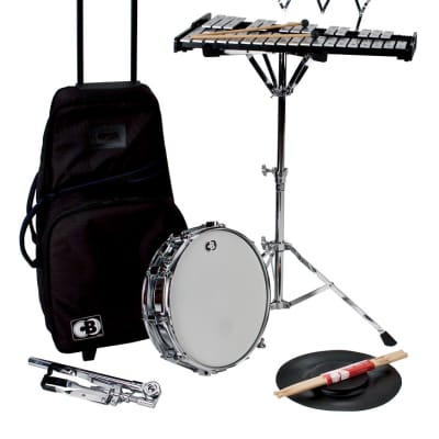 """CB Percussion 7106 Traveler 32-Note Bell Kit Xylophone Set with 14"""" Snare Drum"""