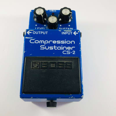 Boss CS-2 Compression Sustainer *Sustainably Shipped*