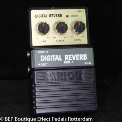 Arion DRS-1 Digital Reverb s/n 179674 mid 80's Japan