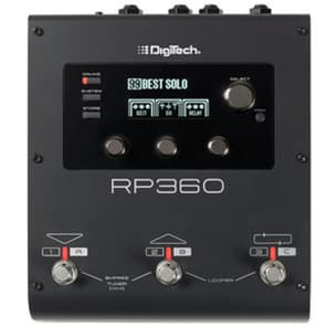 DigiTech RP360 Guitar Multi-Effects Processor GENTLY USED