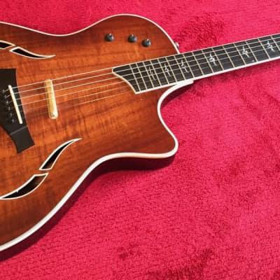 Taylor T5c2 Koa Thinline Acoustic Electric 5 Way Switch Reverb