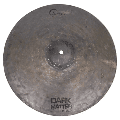 "Dream Cymbals 16"" Dark Matter Series Energy Crash Cymbal"