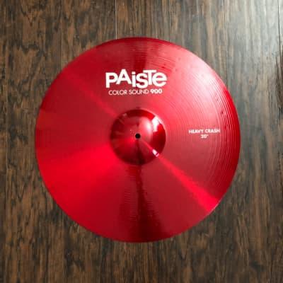 "Paiste 20"" Color Sound 900 Series Heavy Crash Cymbal"