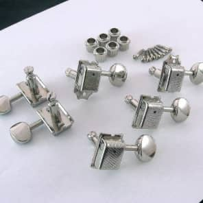 Gotoh TK-7880-001 6-in-Line Vintage Style Staggered Tuners