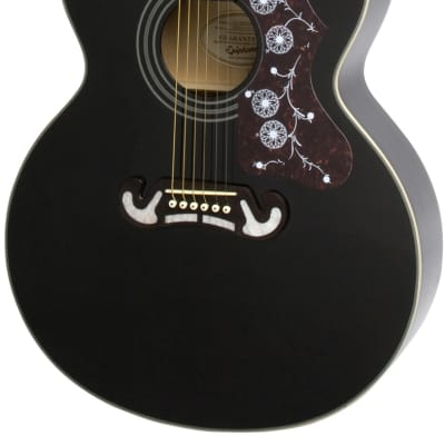 Epiphone EJ-200 Artist Acoustic Guitar - Ebony for sale