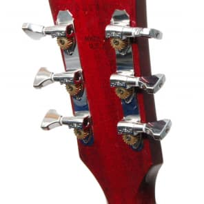 Hipshot CHROME 3+3 Classic Open-Gear Guitar Machines 3x3 Tuners with UMP Kit
