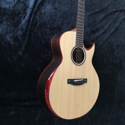 New Terry Pack SJRS acoustic small jumbo guitar, solid rosewood/Sitka spruce, played by Jorge Sotres for sale