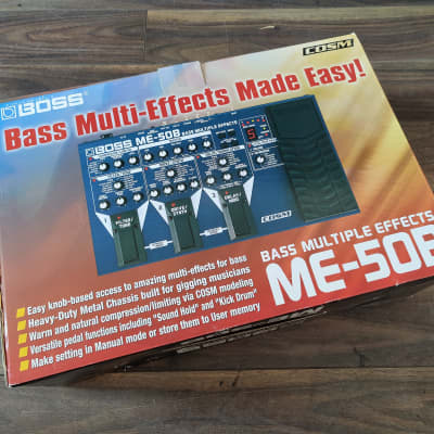 Boss ME-50B Bass Guitar Multi Effects System for sale
