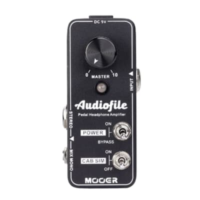 Mooer Audiofile Headphone Amplifier Pedal NEW! Just Released