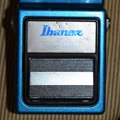 Vintage Ibanez Super Metal  SM-9 Distortion Pedal w/ Power Supply