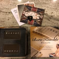 Bare Knuckle Cold Sweat Pickups 2017 Nickel