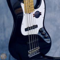 Fender American Standard Jazz Bass V 2010s Black image